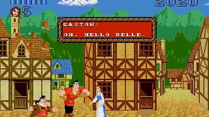 Sega - Beauty and the Beast׃ Belle's Quest