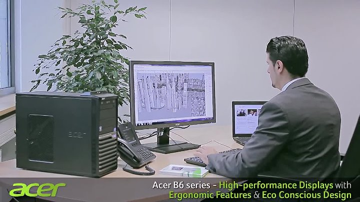 Acer B6 and V6 Professional Monitors Series