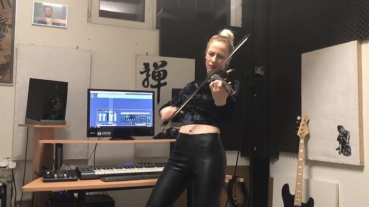 Shape of You - Ed Sheeran _ Amadeea Violin Cover _ Alex Cooper Remix