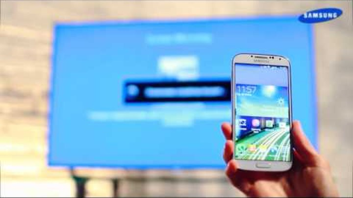 Как отобразить экран смартфона на TV? | Samsung GALAXY S4