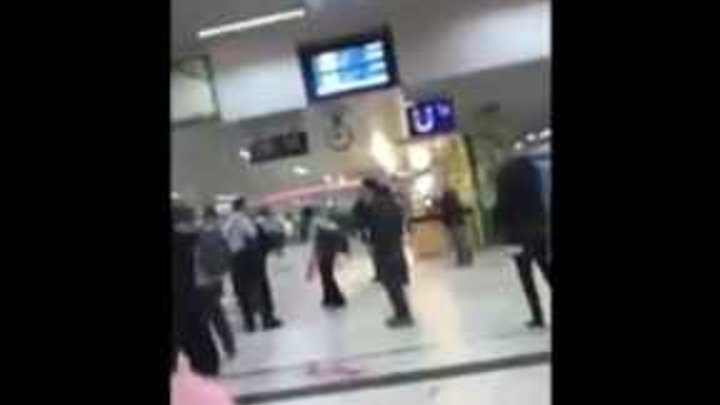 BREAKING!! MEN WITH AXES TERROR ATTACK AT DUSSELDORF TRAIN STATION