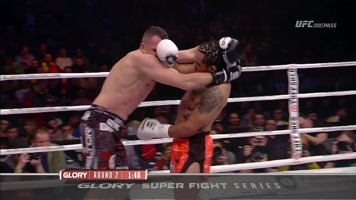 Glory 38: Super Fight Series (24.02.2017) Benjamin Adegbuyi vs. Anderson Silva
