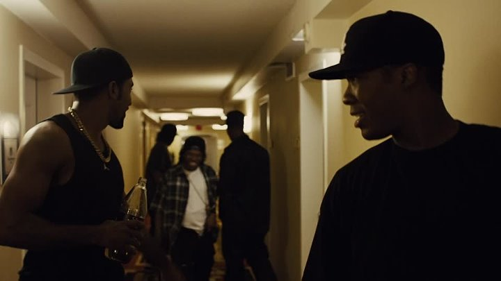 Голос улиц - Straight Outta Compton (2015) HD драма музыка