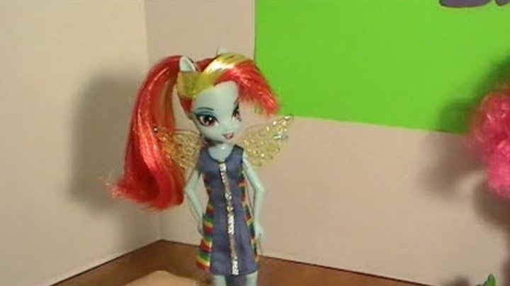 Equestria Girls RAINBOW DASH My Little Pony Deluxe Doll Unboxing & Review! by Bin's Toy Bin