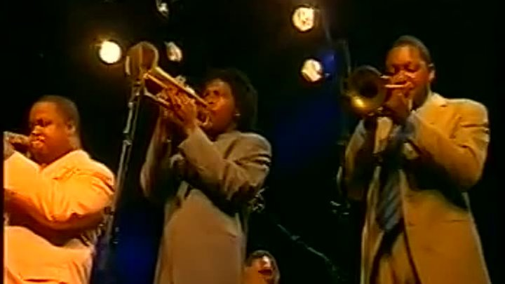 JAZZ IN MARCIAC 1999 - Jazz Trumpet Summit - Part 1 - Walkin'