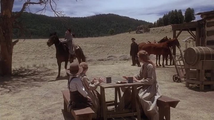 Last Stand at Saber River (Western 1997) Tom Selleck, Suzy Amis & Rachel Duncan