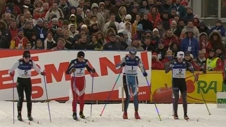 Petra Majdic and Jens Arne Svartedal Men's & Women's Sprint at World Cup 2005/2006 Drammen