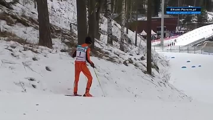 Adrian Solano - Worst cross country skier ever