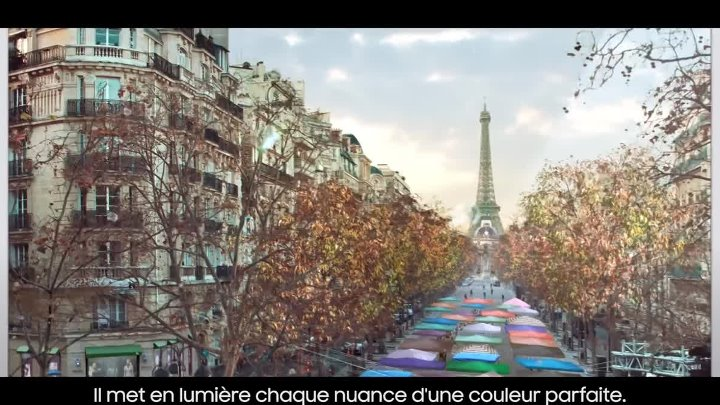 QLED TV de Samsung _Milliards de couleurs_.