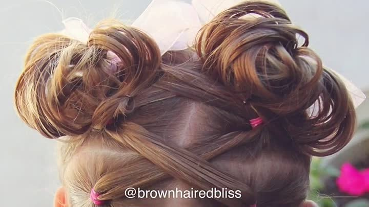 How to Elastics into High Messy Buns Tutorial Brown Haired Bliss
