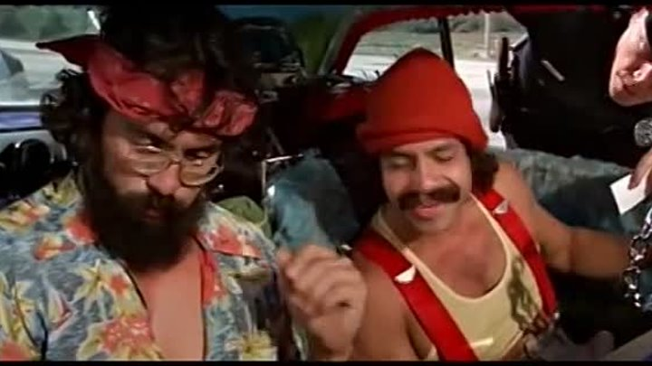Укуренные. Диалог с полицейским (Cheech and Chong - Up in Smoke, 1978)
