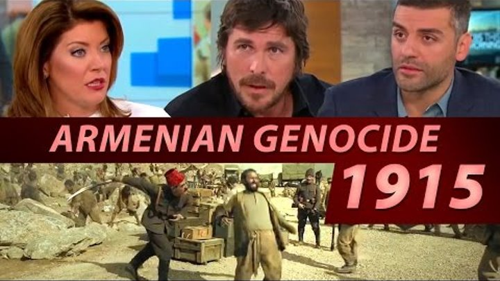 Armenian Genocide Movie !! Christian Bale + Oscar Isaac Talk the Promise on CBS This Morning