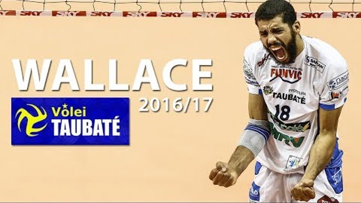 Top 20 Best Volleyball Spikes | Wallace de Souza | Season 2016/17 | Funvic Taubaté