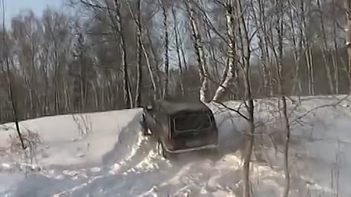4x4 Hover Great Wall Test Drive 4x4 зима MO