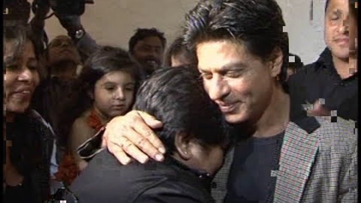 Crazy and Luckiest Shahrukh Khan fan.