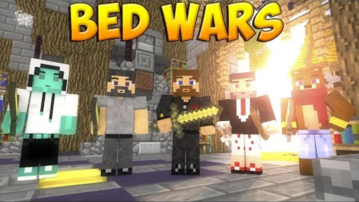 Minecraft Bed Wars #24 - Евгеха - чемпион!
