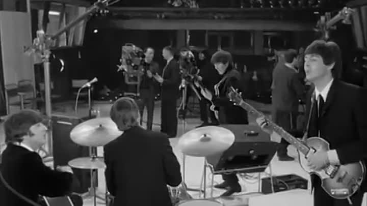 hard day's night movie clip- If I Fell.webm