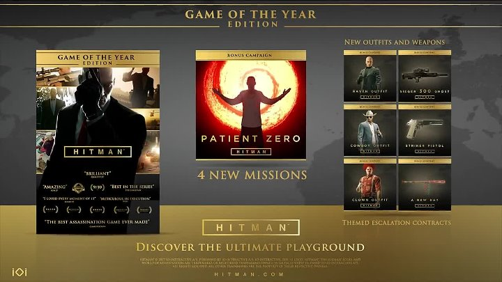 Hitman — Game of the Year Edition — трейлер
