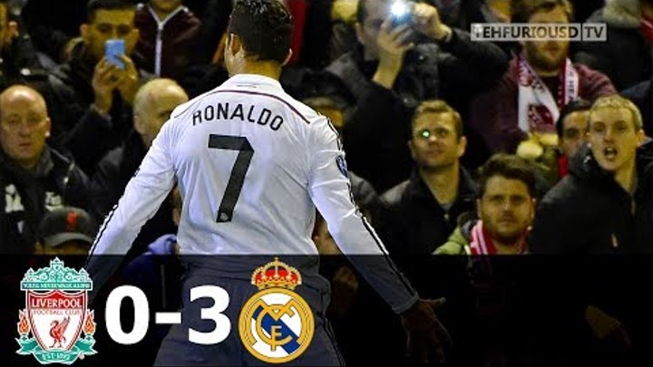 Liverpool vs Real Madrid 0-3 All Goals and Highlights (UCL) 2014-15 HD 1080i