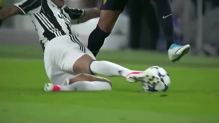 Dani Alves vs Monaco