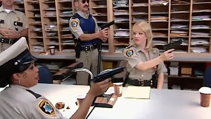 Reno 911 s02e08 - Security for Kenny Rogers