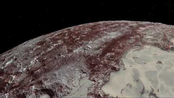 New Horizons Flyover of Pluto