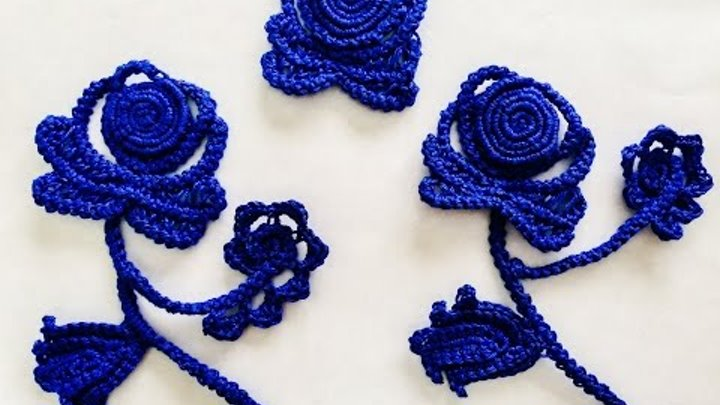 Crochet Flower - Lace Rose