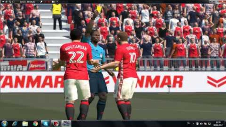 Manchestr Unayted vs Arsenal FC Super Kanal
