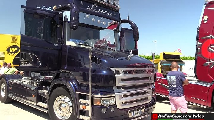 Weekend del camionista 2017 - Misano - Custom truck show & exhaust sound!
