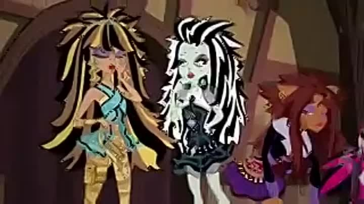 Монстр хай Monster high Школа монстров 1 сезон 7 серия