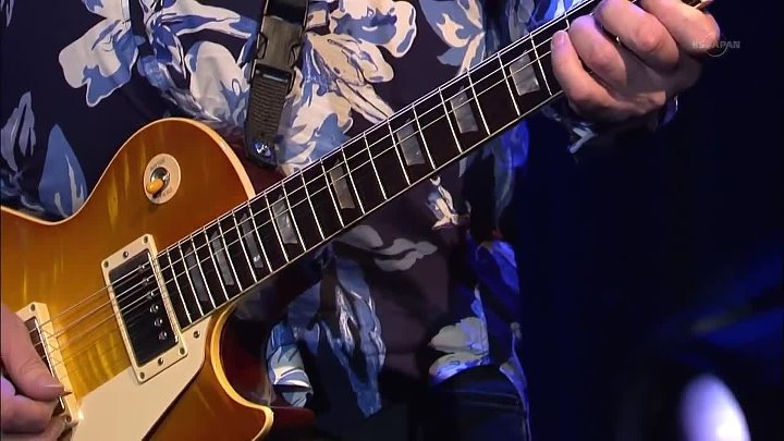 Две легенды. Gary Moore солирует для John Mayall & The Bluesbreakers