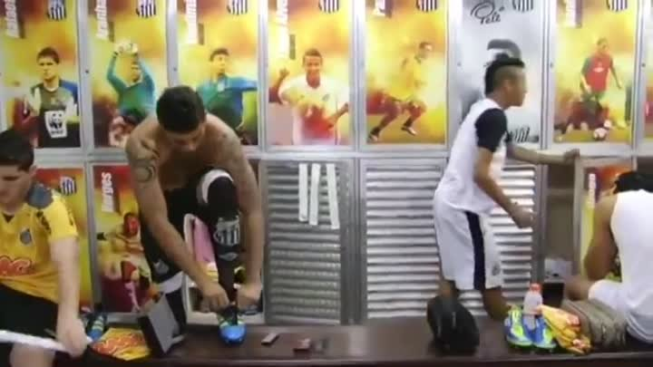 "Cristiano Ronaldo & Marcelo and Neymar Dancing to ""ai se eu te pego"""