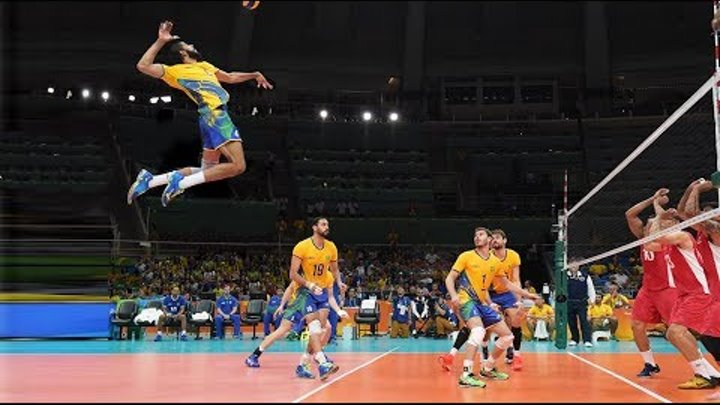 Top 10 Powerful Volleyball Spikes by Wallace de Souza | Attack in 3rd Meter | World League 2017