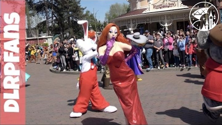 The most Disney Characters ever in a Parade at Disneyland Paris 25th Grand Cavalcade in 4K