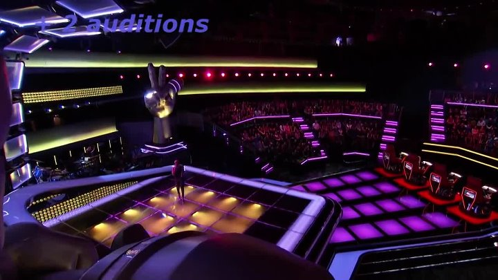 Top 10 all turn auditions The voice of USA (part 2) (1)