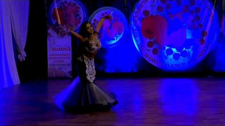 DIANA GNATCHENKO - 1 plase of Russian Cup/FINAL /Moscow 2017! Professionals solo oriental