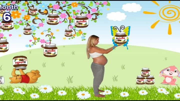 9 months in 1000 pictures stop motion (Pregnancy time lapse!) - Osher, Tomer and Baby Emma
