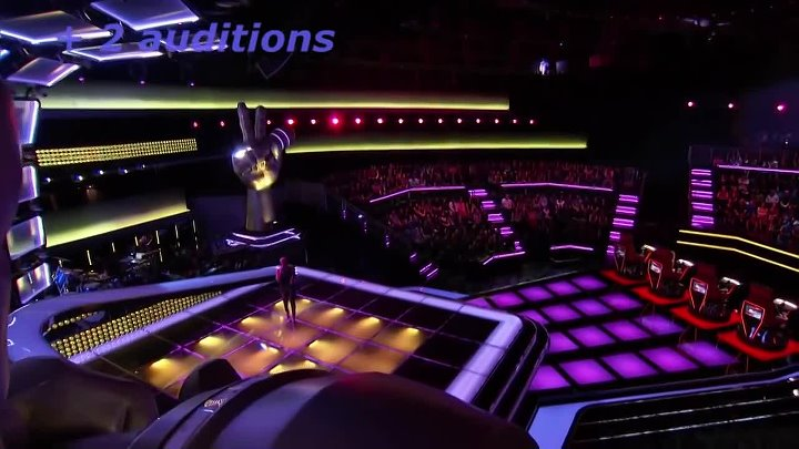 Top 10 all turn auditions The voice of USA (part 2)
