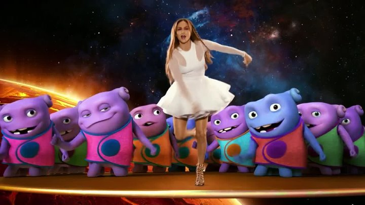 Jennifer Lopez - Feel The Light (OST Home) (Official Video)