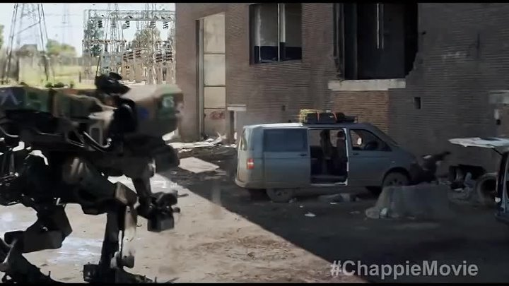 Chappie TV SPOT - New Creation (2015) - Hugh Jackman, Dev Patel Robot Movie HD