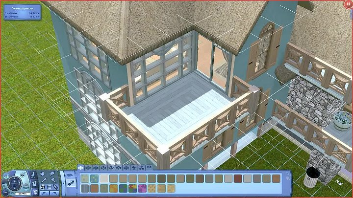 The Sims 3 Дом «Бамбук»