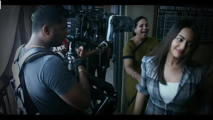 Sonakshi Sinha as Maya _ Behind The Scenes _ Ittefaq _ In Cinemas Now