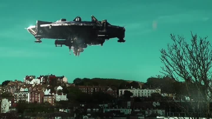 UFO over Hastings - May '10 HD (District 9 after effects test)