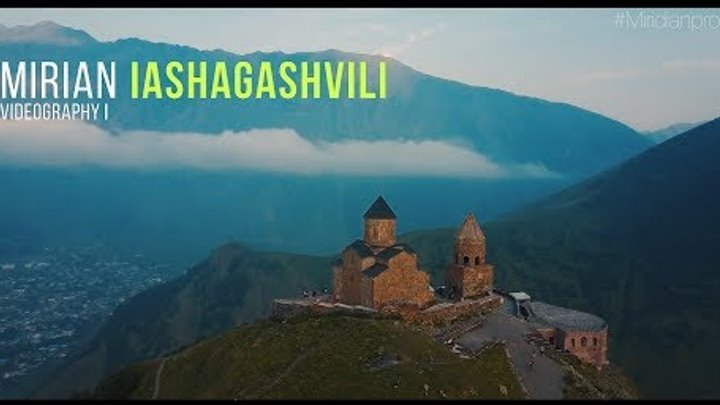 Kazbegi / Gergeti Trinity Church / 4k / Miridian Prod. Game Of Thrones Music