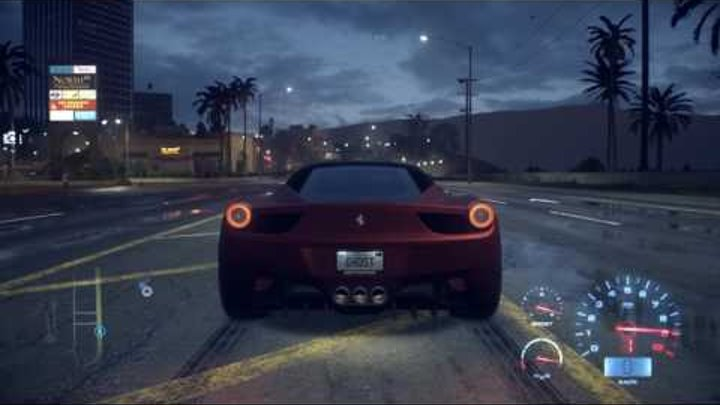 FERRARİ DANS NFS 2015 - ARABA YARIŞI ESKİ VİDEO