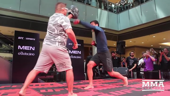 UFC Sao Paulo_ Lyoto Machida Open Workout Highlights - MMA Fighting