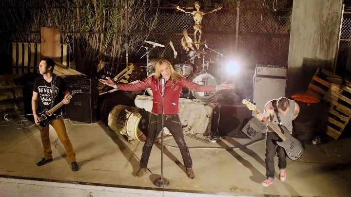 Sebastian Bach - All My Friends Are Dead (Official Video ⁄ 2014 ⁄ New Album)