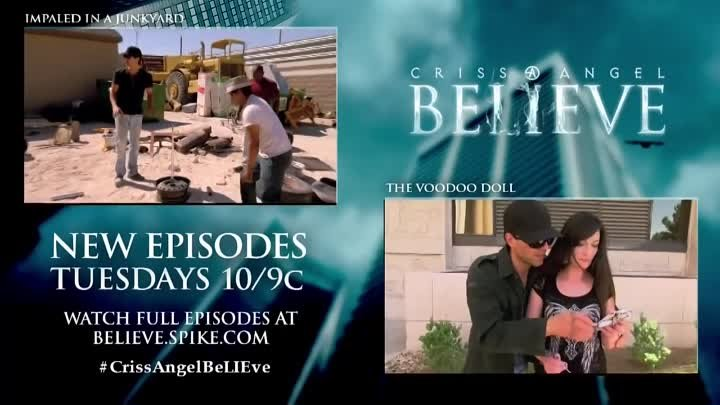 Criss Angel BeLIEve: Criss Brings Bird Back To Life (On Spike)