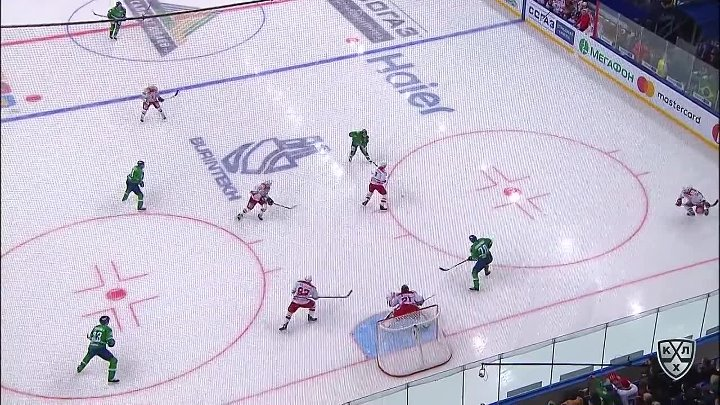 Avtomobilist 3 Salavat Yulaev 5, 20 October 2017 Highlights