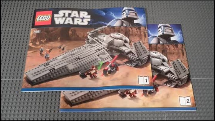 Lego 7961 Review Darth Maul's Sith Infiltrator Star Wars